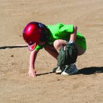 t-ball sand play